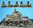 35HM0002 1:35 Polish 7tp Tank Commander #1