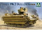2067 1/35 British APC FV432 Mk.3 Bulldog 2 in 1
