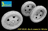 HSR 35138 BA-6 Wheels (for Hobby Boss)
