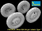 HSR 35134 85mm 52-K AA Gun Wheels, Type 1