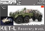 PS35263 KET-L Recovery Truck (for Trumpeter URAL)
