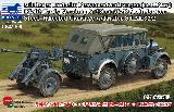 CB35209 KFZ12 (Early Ver.) & 2.8cm SPZB41 on Large Steel-Wheeled Carriage w/Trailer Sd.Ah.32/2