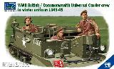 35028 1/35 British Commonwealth Universal Carrier Crew In Winter Uniform 1943-1945