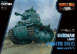 WWT-011 German Light Panzer 38(T) cute tank