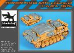 T35193 1\35 Sturmgeschutz III Ausf.D accessories set