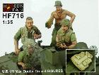 HF-716 Vietnam War Duster Crew - 4 figs.