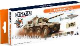 Hataka Hobby HTK-CS92 South African Army (paint set 8 x 17ml)