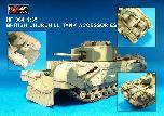 HF064 British Churchill Tank Accessories