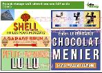 DD099 French vintage wall advertisements DECALS 1:35