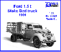 35126 1939 Ford 1,5 t Stake Bed truck 1/35