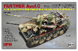 5019 1/35 Panther Ausf.G with full interior & cut away parts