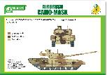 PPA5164 Airbrush CAMO-MASK for 1/35 T14 ARMATA Camouflage Scheme 2