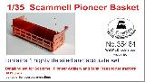 35464 1/35 PE upgrade set Basket for  Scammell Pioneer Tractors