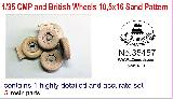 35457 1/35 CMP and British Wheels 10,5x16 Sand pattern