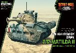 WWT-014 British Infantry Tank A12 Matilda II - World War Toons