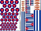 Cuban Roundels & Vehicle Markings 1/35 1/32 1/48 1/72 1/144 Decals