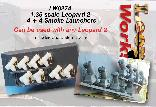 LW027A 1:35 scale Leopard 2 4 + 4 Smoke Launchers
