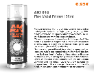 AK1016 Fine Metal Primer 150ml
