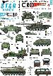 35-C1126	Tanks & AFVs in Bosnia # 4. HVO (Croatian) M-84, T-34, Praga, M-60. 2S1, BRDM-2, VW T3.