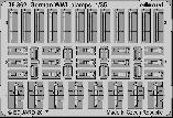 36362 German WWII clamps 1/35