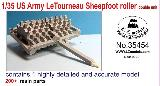 35454 1/35 US Army LeTourneau Sheepfoot roller  double unit