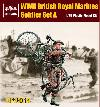35014 WWII British Royal Marines soldier set A