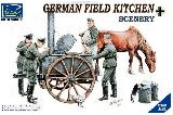 RV35045 German Field Kitchen Scenery