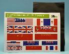 DD0105 Allied flags  (double-sided) + aluminium foil  1:35