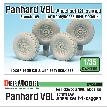 DW35096 French Panhard VBL Sagged Wheel set (2)(for Hobbyboss/Tiger model 1/35)