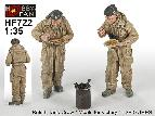 "HF-722 Bristish Tank Crew ""Meal for Vectory"" -2 figs"