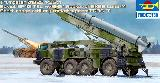 01025 Russian 9P113 TEL w/9M21 Rocket of 9K52 Luna-M (FROG-7)