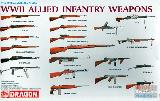3815 WWII Allied Infantry Weapons