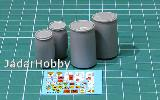E-040 1/35 Plastic Chemical Storage Drums Set#2