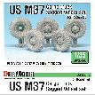 DW35097 US M37 Cargo Truck Sagged Wheel set (for Roden 1/35)