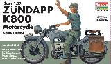 56006 German Zundapp K800 Motorcycle