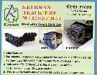 Kz-SH-HVSS Sherman T-80 Tracks set (Plastic model)