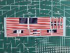 G35019 1/35 Antenna Flags Decals for WWII US 48 star flag