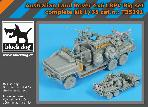 T35191 1\35 Australian Land Rover 6X6 LRPV complete kit big set