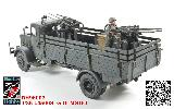 96003 1/35 German L4500S w/MG151