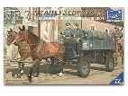 35043 HF.7 Stahl Feld Wagen German Horse Drawn Wagen (2 Figures)