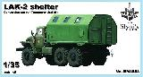3553 LAK-2 shelter, 1/35 for Trumpeter Ural kit