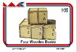RZ 35057  FOUR WOODEN BOXES