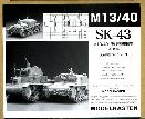 SK-43 Track for M13/40 w/metal sprockets