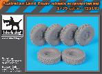 T35183 1/35 Australian Land Rover wheels accessories set