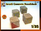 D3503 Israeli concrete Roadblock