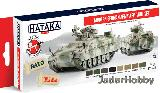 "HTK-AS81 ""Modern German Army AFV (paint set 8 x 17ml)"