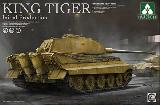 TAK-2096 1/35 German heavy tank King Tiger initial production 4 in 1