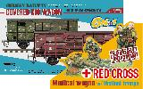 35A01-RCSP German COVERED G10 WAGON Red Cross Special Edition