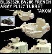 BL35352K BV206 FRENCH ARMY PL127 TURRET - TAKOM