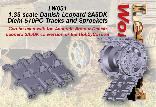 LW031 - 1:35 scale Danish Leopard 2A5DK Diehl 570PO Tracks and Sprockets
